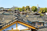 Bukchon Hanok Village is one of the famous place for Korean