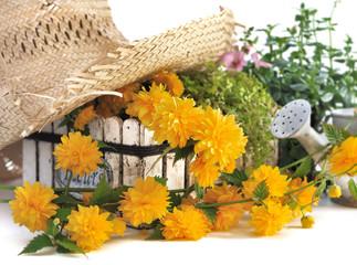 composition florale estivale
