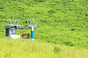 夏のハチ高原スキー場