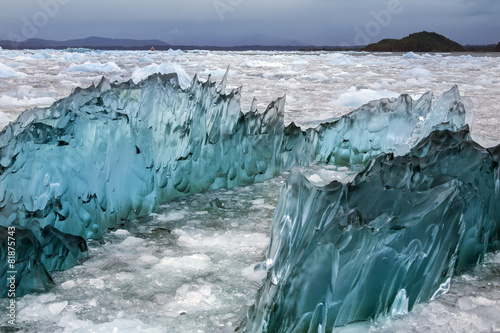 In de dag Gletsjers Laguna San Rafael - Patagonia - Chile