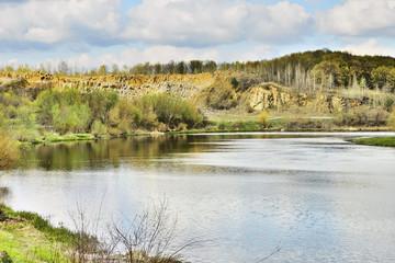 Вид на реку Случ