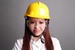 Smile engineer woman