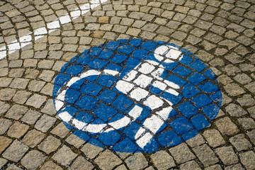 handicapped - disabled parking sign (73)