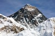 Top of Mount Everest from Kala Patthat