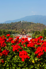 Hor Kam Luang,royal pavilion,Chiangmai ,Thailand.