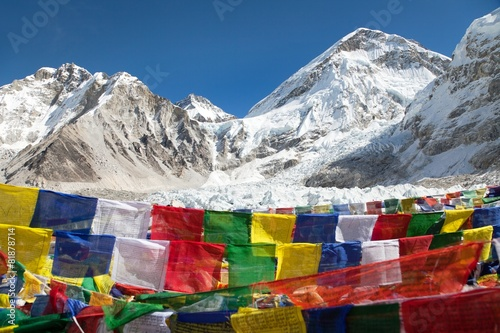Aluminium Nepal view from Mount Everest base camp