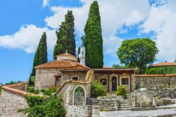 Mosque in town Bar, Montenegro