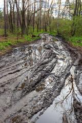 lack of roads