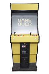 Arcade game over