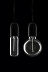 A pair of retro bulbs