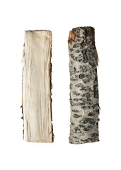 Firewood isolated