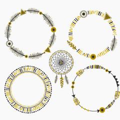 Tribal Design Frames