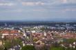 Schloss und drei Kirchen in Ettlingen