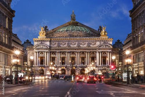 Papiers peints Opera, Theatre Opéra national de Paris
