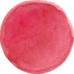 Watercolor marsala color circle
