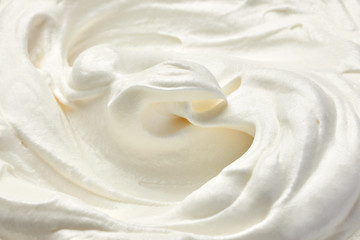 whipped cream sour sweet food