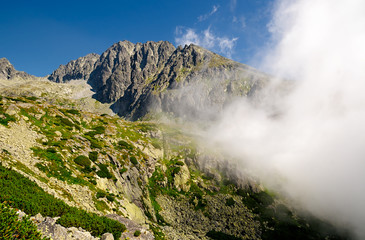 High Tatra Mountains in Slovakia