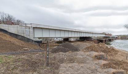 newly constructed bridge