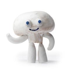 Champignon mushroom mascot