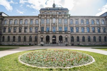 Kollegienhaus Erlangen Frontalansicht