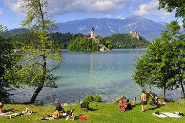 Amazing Bled lake