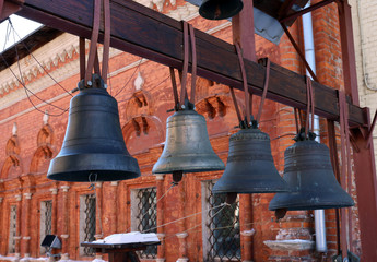 Bronze bells from Christian church