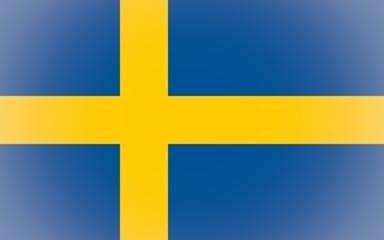 Flag of Sweden vignetted