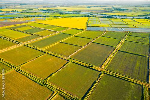 Keuken foto achterwand Luchtfoto Krasnodar region, Russia
