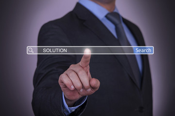 Businessman Search Solution