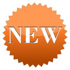 New Sign Orange