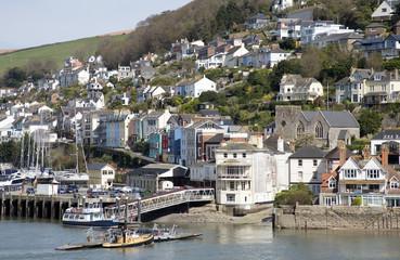 Kingswear a Devon town overlooks the River Dart Devon
