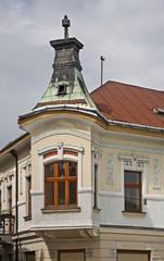 Marianske square in Zilina. Slovakia