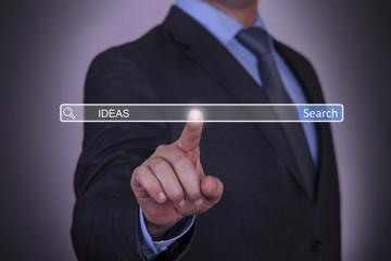 Businessman Search Idea