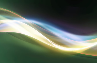 Abstract elegant wave