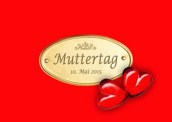 Muttertag / 10. Mai 2015 / 2 Herzen