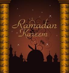 ramazan celebration background