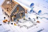 budowa domu na plany z robotem - projekt budowlany