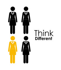 Think different design