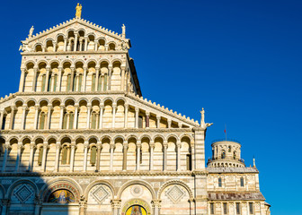 Facade of the Pisa Cathedral - Italy