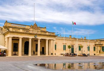The Main Guard building in Valletta - Malta