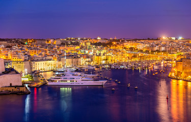 View of a marina near Valletta - Malta