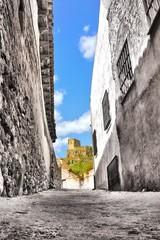 Callejuela hacia el castillo