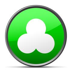 White Venn Diagram icon
