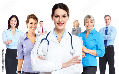 Medical doctor woman. - 81901920