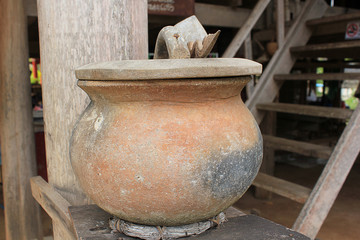 Jar of Ancient Water,thailand