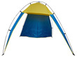 Beach tent isolated