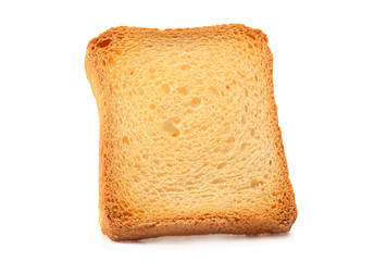 Toasted bread slice