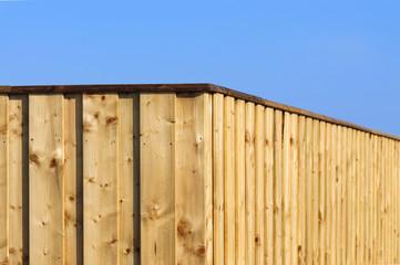 Zaun aus Holz