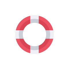 Lifebuoy. Support help symbol.