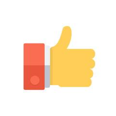 Thumb uo like symbol.